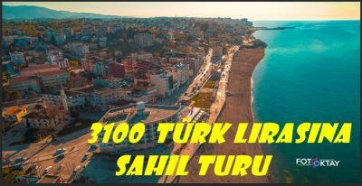 sahilde gezinmenin ceza karşılığı 3100 tl