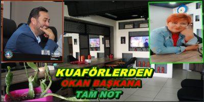 Akçakoca'nın Ünlü Kuaföründen MHP li Başkana Tam Not (İyiki Varsın Başkan )