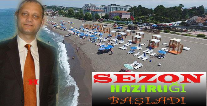 Akçakoca'nın Lokomatifi Sayılan Ünlü  Hasret Beach Club Hazırlıklarına Başladı