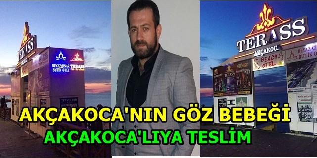 Teras Bar'ın Yeni PATRONU Akçakoca'nın  İnsanı İbrahim Küçük