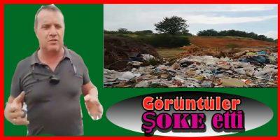 Akçakoca'nın En Turistik Yazlık Alanı Çöp Terörüne Teslim Edildi