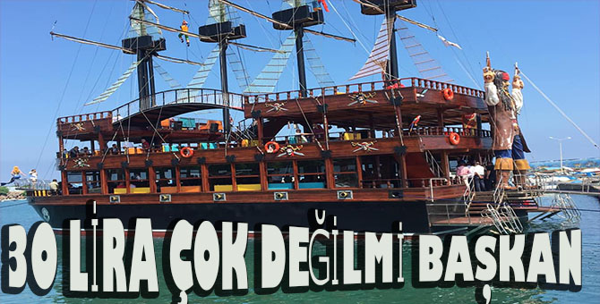 yarın ilk seferine çıkacak olan gezi teknesinin 3 saatlik turu fiyat olarak ağır geldi