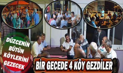 Diğer Vekiller Bodrum Türk Bükün de Tatil Yaparken Düzcenin Ümidi KÖY KÖY Geziyor
