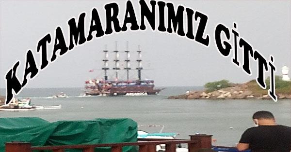 Akçakoca limanı güvenli olmadığı için ereğliye demirleyecek