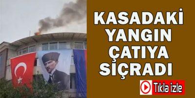 Akçakoca Belediyesindeki Yangın Görenleri Korkuttu
