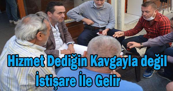 Kendi Partisi İçinde Yanlızlaşan Başkan Bundan Sonraki Süreçte Açıklamalarda olmak üzere AK partiyle İstişare kararı alındı