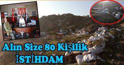 Belediyeden Yeri Bedava Alasıya Kadar 80 Kişi, Çalışacaktı Şimdi Çöplük Alanı Oldu