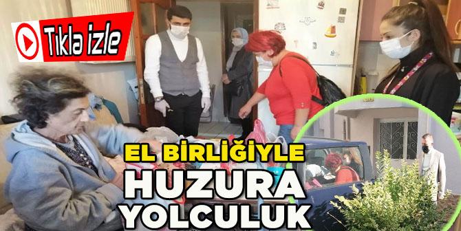 Hasta ve Kimsesiz Akçakocalı Kadın Tedavisi İçin Ankara'ya Götürüldü