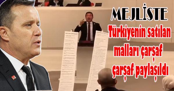 metrelerce uzunluğunda Türkiye'nin satılan malları yayınlandı