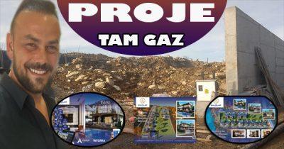 13 Adet Villa Proje'si Tam Gaz Devam Ediyor