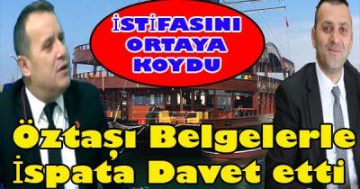 Hakan Öztaş'ın resmen akçakoca,lıyı kandırdığını iddia etti