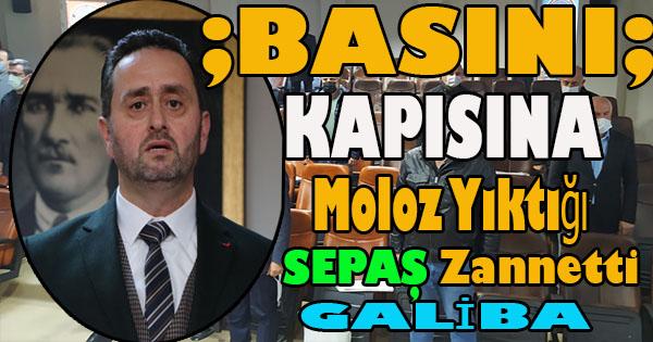 Sayın başkan Akçakoca BASINI'nı tüpçüyle karıştırıyor galiba