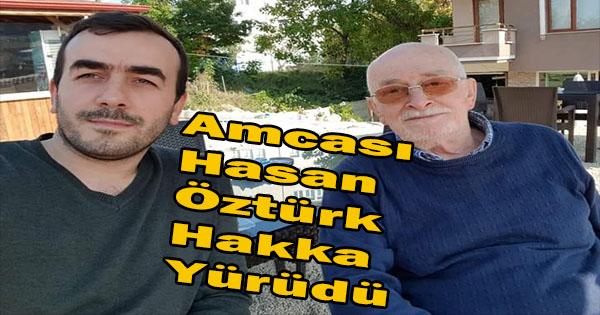 Akçakoca kızılay başkanı'nın amcası vefat etti
