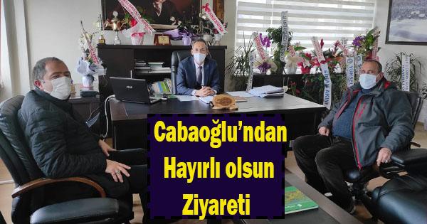 cabaoğlu'yeni başlayan müdürü yanlız bırakmadı