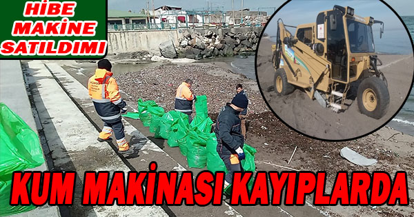 Belediye Kumsallarda Bahar temizliğine başladı