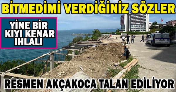 ARSANIN YÜZDE 50'Sİ KIYI KENAR KANUNU İHLAL EDİYOR