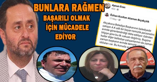Okan Başkana Yapılan Terbiyesizlik İl Başkanı Cabaoğlu Tarafından Üstü Örtülmeye Çalışılıyor Akçakoca MHP İlçe Teşkilatı Bir Gazeteci Üzerinden Belediye Başkanını Küçük Düşürme Olayı Akçakocalılar tarafından tepkiyle karşılandı
