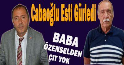Düzce İl Genel Meclis Üyesi Özenselden Cabaoğlunun çıkışına Halen Bir açıklama gelmedi